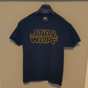 Black star wars shirt
